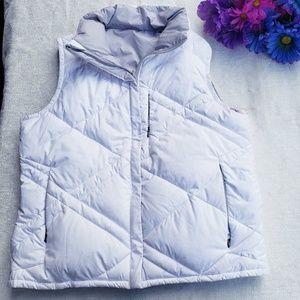 Columbia womens medium reversible puffer vest (Q)